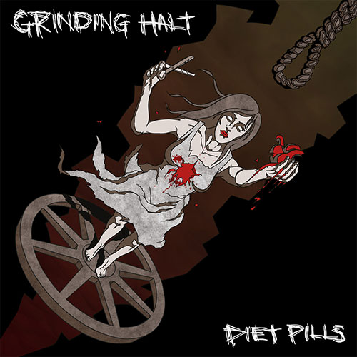 Grinding Halt / Diet Pills: Split 7""