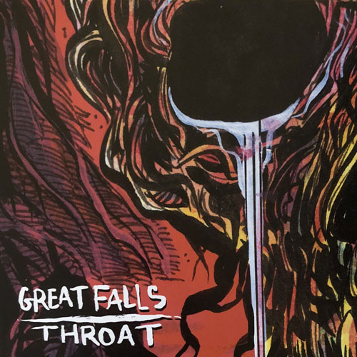 Great Falls / Throat: Split 7""