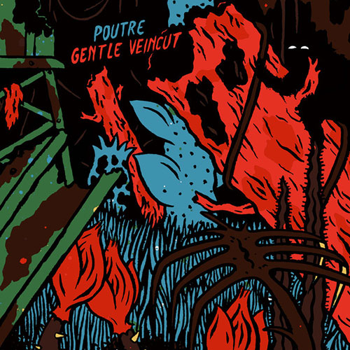 Poutre / Gentle Veincut: Split LP
