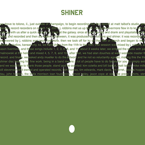 Shiner: The Egg LP