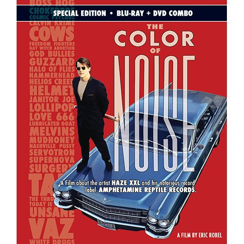 The Color of Noise DVD+Blu-Ray