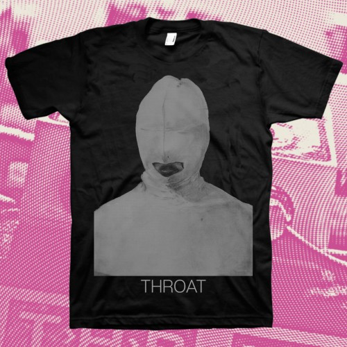Throat: Silver Hood T-Shirt