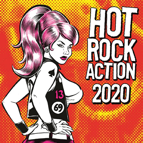 V/A Hot Rock Action 2020 7""