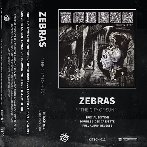 Zebras: The City of Sun Tape